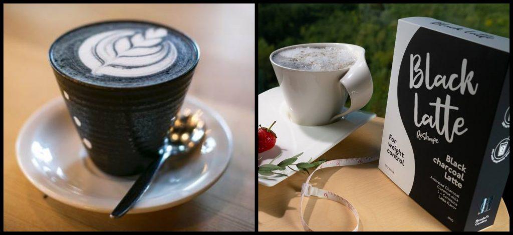 Essayez-le Black Latte, qui ne contient que des ingrédients naturels!